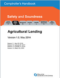 Comptroller's Handbook: Agricultural Lending Cover Image