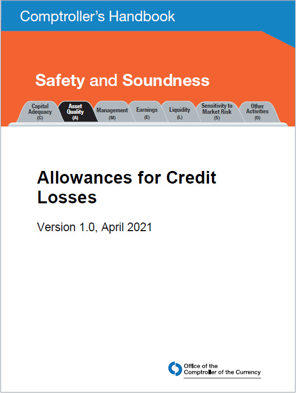 New Comptroller's Handbook: Allowances for Credit Losses Cover Image