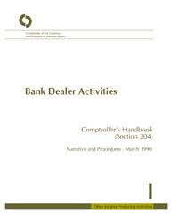 Comptroller's Handbook: Bank Dealer Activities | OCC