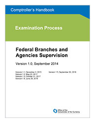 Comptroller's Handbook: Federal Branches and Agencies Supervision ...