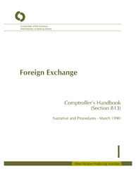 Comptroller's Handbook: Foreign Exchange Cover Image