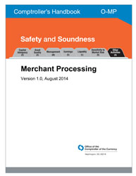 Comptroller's Handbook: Merchant Processing Cover Image