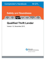 Comptroller's Handbook: Qualified Thrift Lender Cover Image