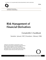 Comptroller's Handbook: Risk Management of Financial Derivatives Cover Image