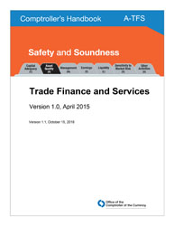 Comptroller's Handbook: Trade Finance and Services Cover Image