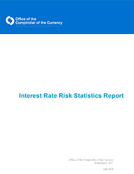 Interest Rate Risk Statistics Report, Fall 2020