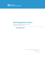 Mortgage Metrics Q1 2014 Cover Image