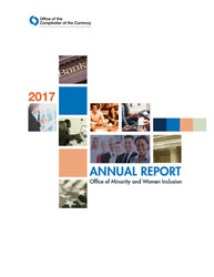 2017 Office of Minority and Women Inclusion (OMWI) Annual Report Cover Image