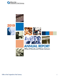 2019 Office of Minority and Women Inclusion (OMWI) Annual Report Cover Image