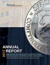 Report to Congress on Preserving and Promoting Minority Depository Institutions 2017 Cover Image