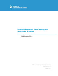 Quarterly Report on Bank Derivatives Activities: Q3 2016