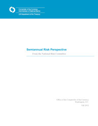 Semiannual Risk Perspective, Fall 2012 Cover Image