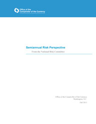 Semiannual Risk Perspective, Fall 2013 Cover Image