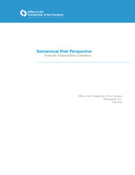Semiannual Risk Perspective, Fall 2016 Cover Image