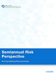 Semiannual Risk Perspective, Fall 2020