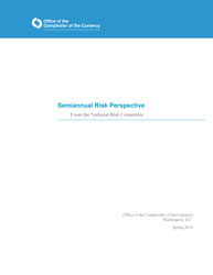 Semiannual Risk Perspective, Spring 2014 Cover Image