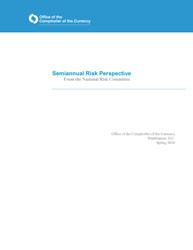 Semiannual Risk Perspective, Spring 2016 Cover Image